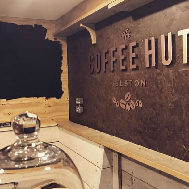 The Coffee Hut in Helston, Cornwall